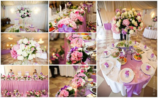 Как создать декор свадьбы
